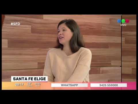 """Eliana Ramos: """"los Barrios Del Cordón Oeste Son Nuestra Prioridad"""""""