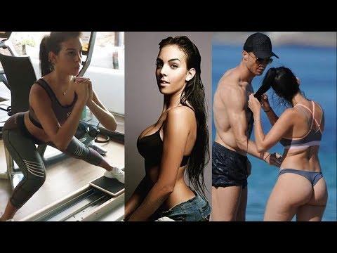 Как тренируется девушка РОНАЛДУ (Джорджина Родригес)