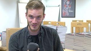 PewDiePie meets Newsbeat  |  BBC Newsbeat