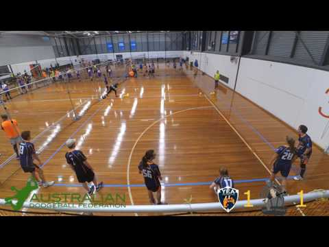 2017 Victorian Dodgeball League Futures Round 1: Chelsea Chimney Sweeps vs Yea Croissants
