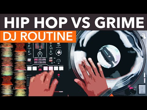 Hip-Hop VS Grime DJ Mix - Numark Scratch - Creative DJ Routines