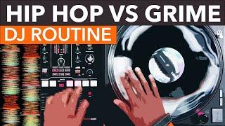 Hip-Hop VS Grime DJ Mix - Numark Scratch - Creative DJ Routines