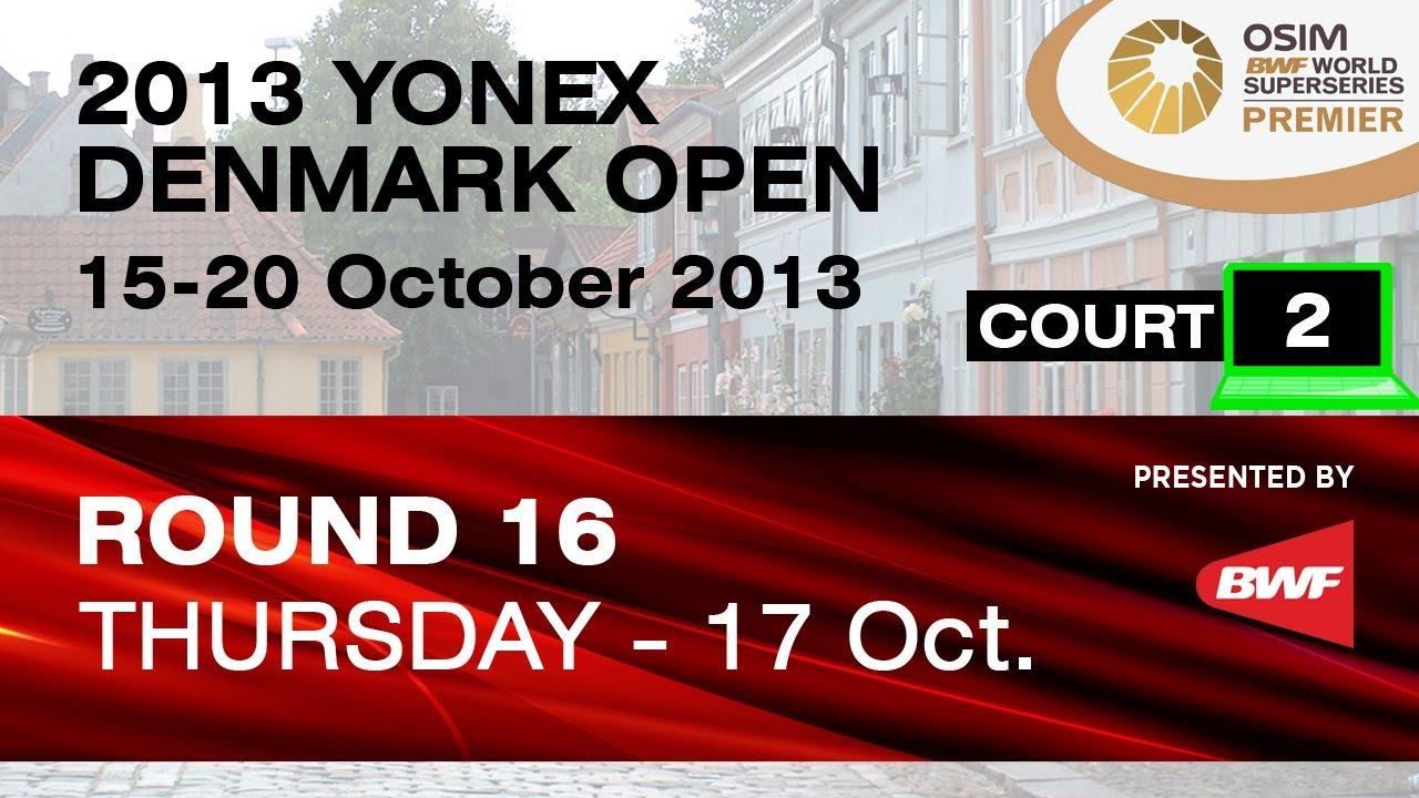 Download R16 (Court 2) - WD - Wang XL. / Yu Y. vs Poon L.Y. / Tse Y.S. - 2013 Yonex Denmark Open