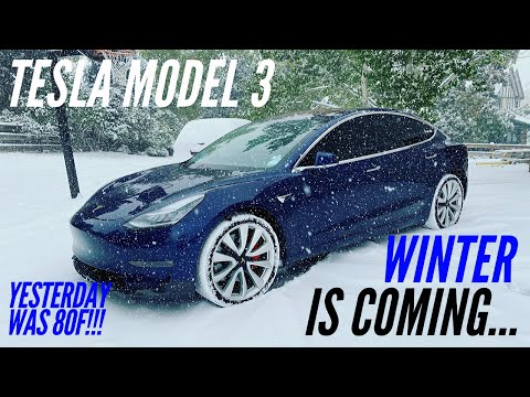 tesla-model-3-|-winter-range-loss-|-cold-battery-efficiency