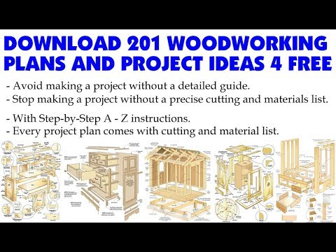 Download FREE 201 Woodworking Plans & Project Ideas