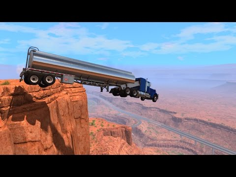 Cliffs Of Death - BeamNG DRIVE
