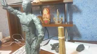 """Уроки скульптуры 5 """"Прорисовка основных мышц"""""""