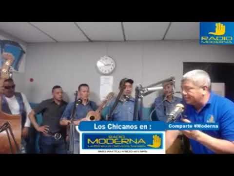Conjunto Los Chicanos en Radio Moderna  11-11-2017