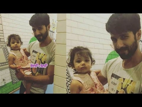 Shahid Kapoor takes Daughter Misha Kapoor to art class this weekend