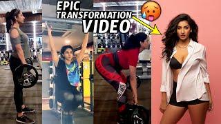 అందమే అందం   Anchor VishnuPriya Epic Transformation Gym Video   Hot Looks   Vishnu Priya   Wall Post