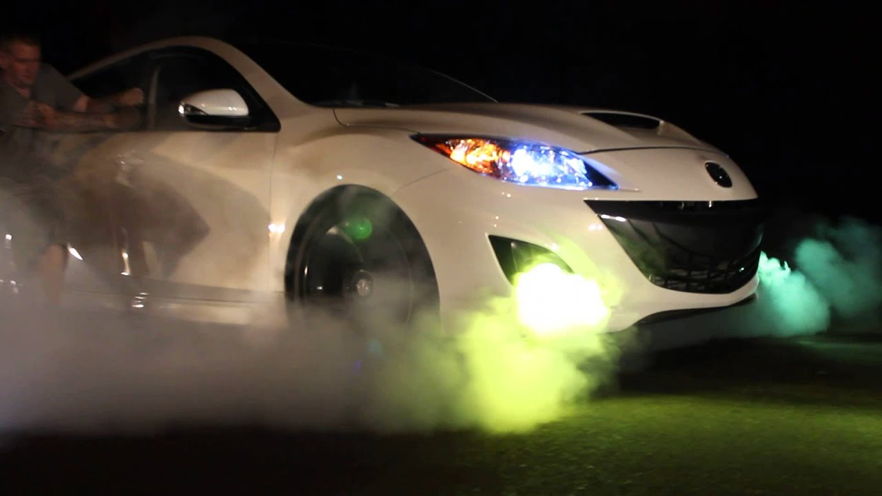 Mazdaspeed 3 Burnout Youtube