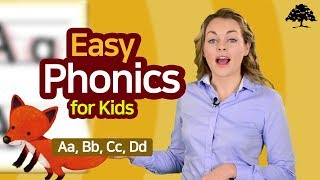 Easy Phonics 1 (Unit 1 Aa, Bb, Cc, Dd ) | Phonics for Kids | Alphabet | Learn to Read