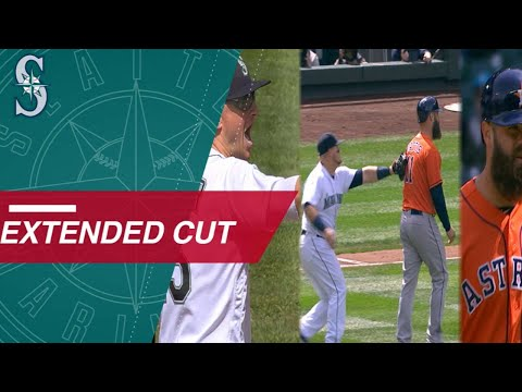 Extended Cut of the Mariners' strange triple play