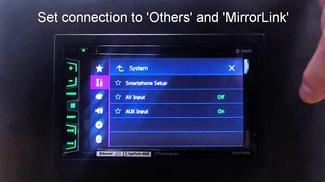 Pioneer AVH-X5700DAB Car Multimedia Drivers for Windows 10