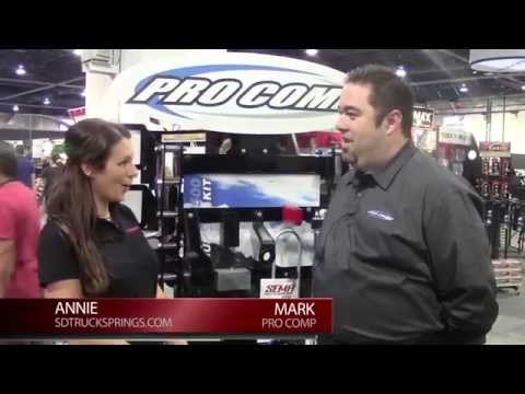 SEMA 2013 - Pro Comp talks Shock Absorbers and Suspension Systems