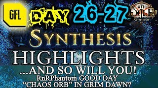 Path of Exile 3.6: SYNTHESIS DAY # 26-27 Highlights AND SO WILL YOU, FISHING ROD...