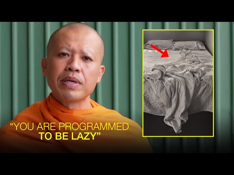 """""""Why do I feel Lazy and Unmotivated All The Time?""""   Nick Keomahavong (Buddhist Monk)"""