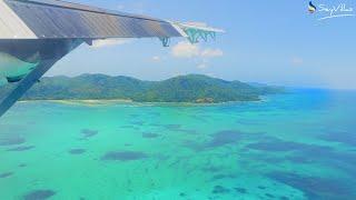 Il volo da Mahé a Praslin