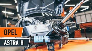 Come sostituire Kit ammortizzatori OPEL ASTRA H (L48) - tutorial