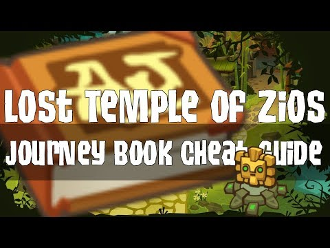 Journey Book Cheat Guides: Lost Temple Of Zios