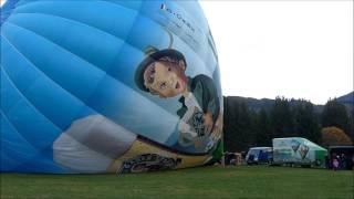 Ballonfahrt - Aufbau und Start