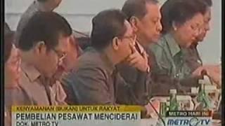 pesawat kepresidenan indonesia menuai kontroversi.3gp