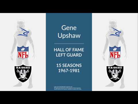 Gene Upshaw: Hall of Fame Football Left Guard
