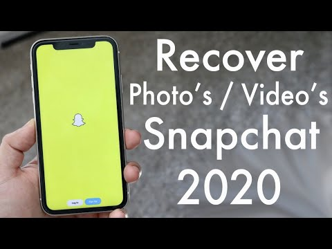 How To RECOVER Snapchat Photos / Video's / Chats! (2020)