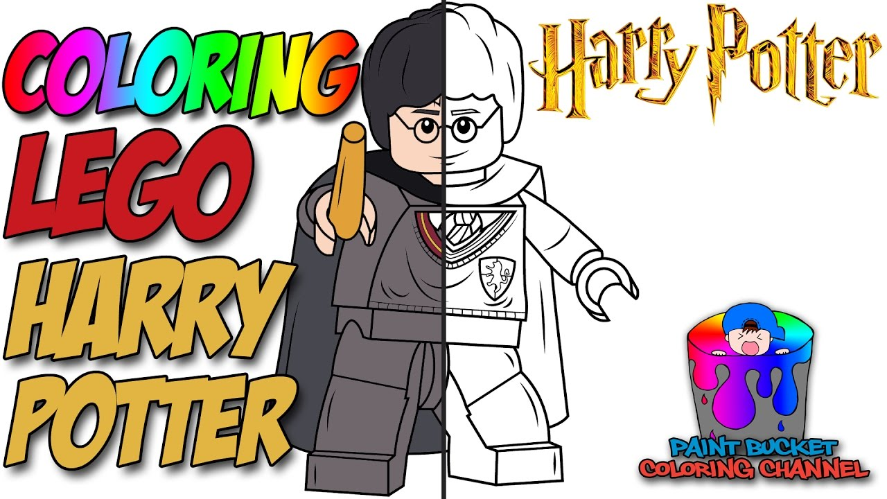 how to color harry potter lego harry potter coloring page