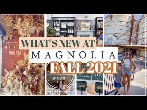 FALL at MAGNOLIA MARKET & SILOS 2021   FALL SHOP WITH ME 2021 + Exploring MAGNOLIA in WACO TX!