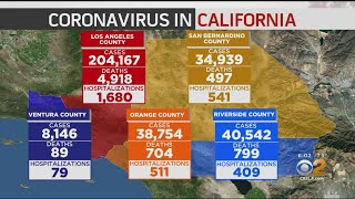 California Coronavirus Death Toll Surpasses 10K, More than 544K Reported Cases