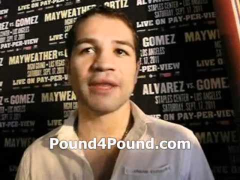 Alfonso Gomez Interview Before Fight With Saul Alvarez