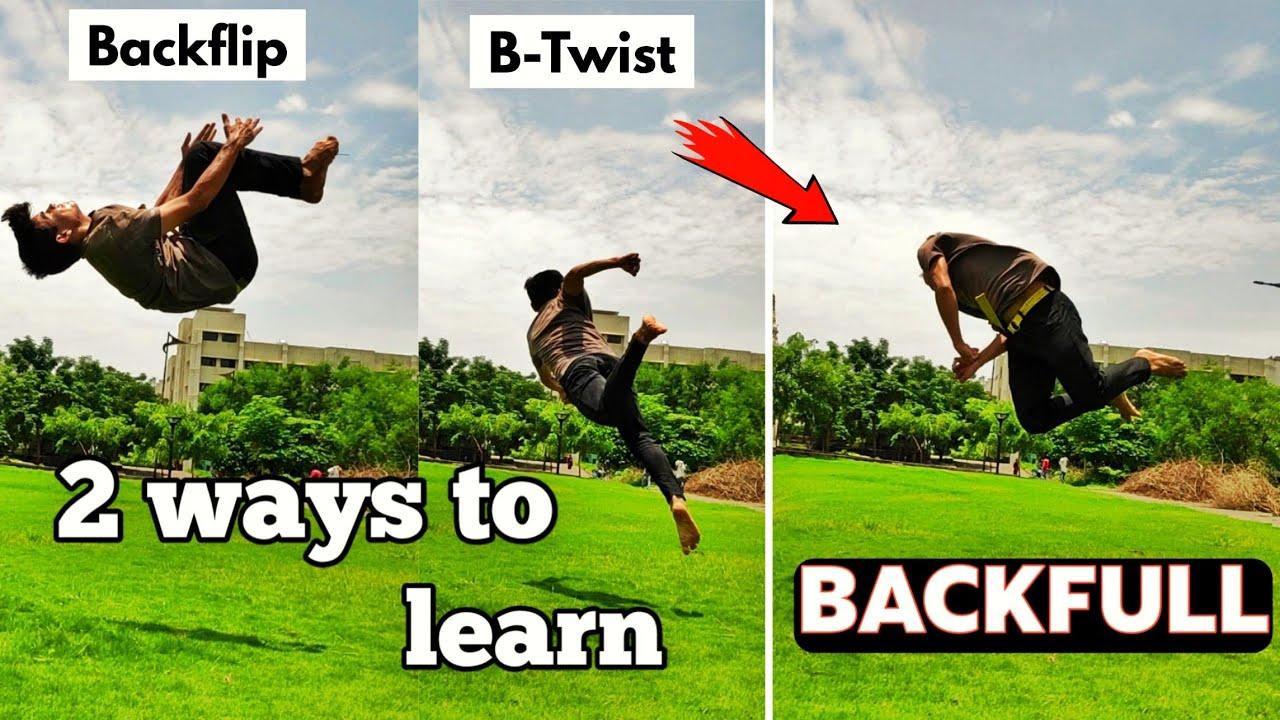 Learn How to do a BACKFULL / 2 ways to learn Backfull 🔥