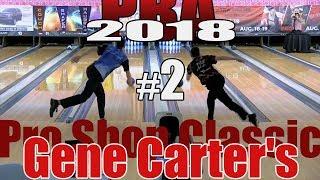 2018 Bowling - PBA Bowling Gene Carter