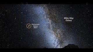 nasa received an sos call from andromeda galaxy message now oded 2017