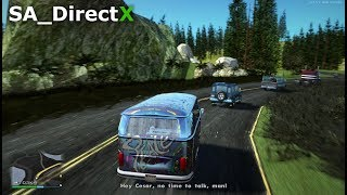 """GTA San Andreas - SA_DirectX 2.0 """"Mission #37 - Are you going to San Fierro?"""" (Gameplay)"""