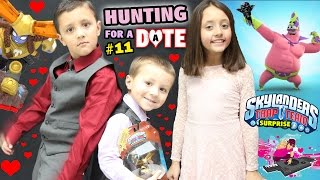 Hunting for a Date / Nitro Head Rush Surprise / Valentines Dance (Skylanders Trap Team Shopping #11)