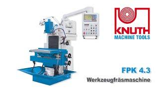KNUTH FPK 4.3 – Kompakte bewährte Bauform kombiniert mit modernster Antriebstechnologie