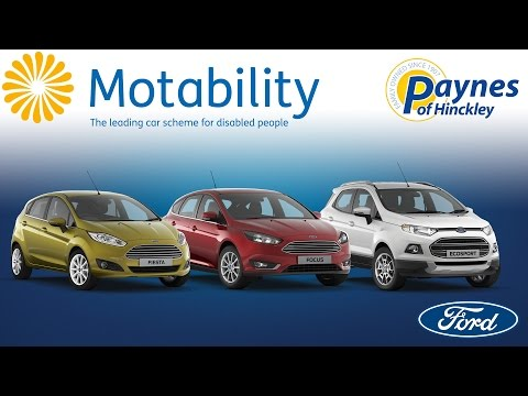 Ford and Motability at Paynes of Hinckley
