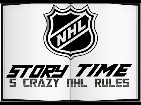 5 Crazy NHL Rules - NHL Story Time