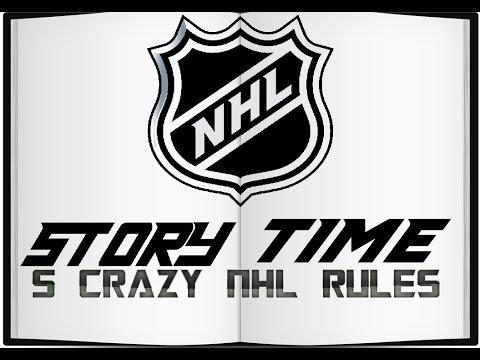 5 Crazy NHL Rules - NHL Story Time