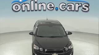A96459DT Used 2013 Chevrolet Sonic Sedan Black Test Drive, Review, For Sale