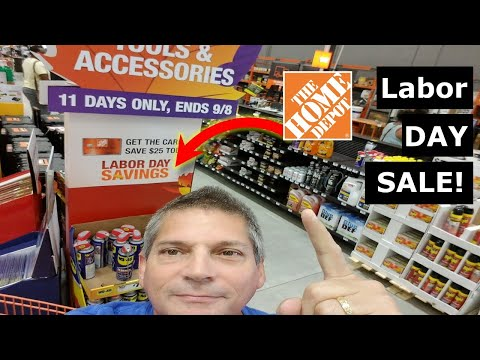 BREAKING: Home Depot Labor Day Deals Up! Dewalt,Rigid,Ryobi