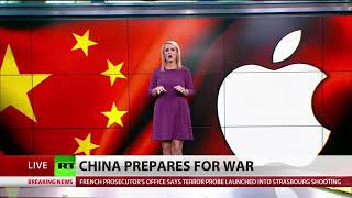Cnn news china:we won't tolerate us warships in our territorial waters