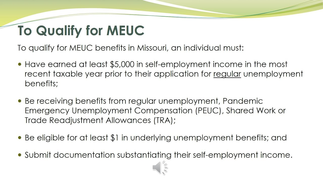 Download Mixed Earner Unemployment Compensation Information