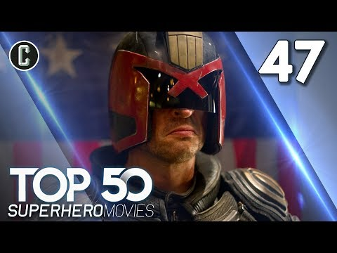 Top 50 Superhero Movies: Dredd - #47