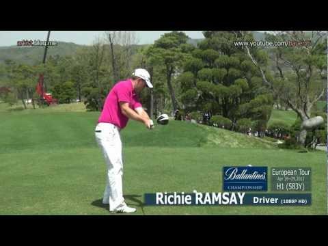 [1080p HD] Richie Ramsay 2012 Driver Golf Swing(1)_European Tour