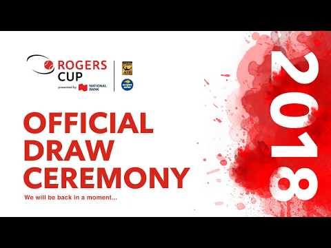 2018 Rogers Cup Draw Ceremony LIVE Stream