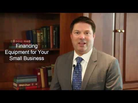 Financing Equipment For Your Small Business