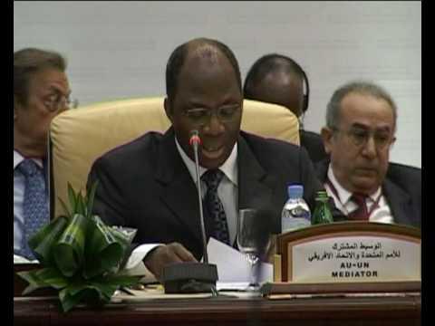 MaximsNewsNetwork: DOHA DARFUR PEACE TALKS: UNAMID: DJIBRILL BASSOLE, UN MEDIATOR